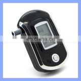 New AT6000 Digital Professional Alcohol Tester LCD Display Disposable Alcohol Breathalyzer