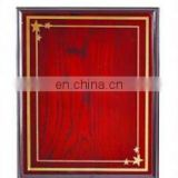 Promotion awards blank wooden plaques for widely usage