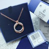 Wholesale Swarovski Womens Fashion crystal Designer Necklaces Chains for sale
