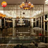 JYFQ0214 stainless steel laser cut decorative panels wall partition corten garden divider outdoor metal privacy screens