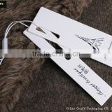 Custom Fashion Paper Hang Tag Garment Hang Tag Clothing Hang Tag In China                                                                         Quality Choice