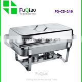 Hot Sale Restaurant Hotel Cookware Stainless Steel Induction Chafing Dish Folding Chafer