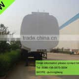 China carbon steel 40000-60000L 3 axles tanker trailers with air suspension 0086-13635733504