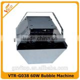 Guangzhou Vitop factory supplier 60W Small bubble machine with wireless remote