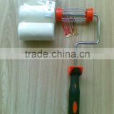 "4"" ROLLER WITH 3PC REFILLS 4PC 100mm paint roller set lint free"
