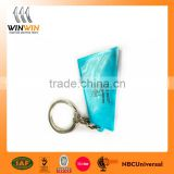 Made in China high quality 3D Custom soft PVC Keychain/ Soft Rubber Keychain/ Silicone Keyring