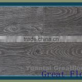 Hot sale synchronized laminate flooring 12mm EIR Surface v-groove                                                                         Quality Choice