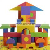 safe material EVA funny soft plastic building blocks with EN71                                                                                                         Supplier's Choice