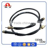 High Quality Cable Supplier Direct Sale Black PVC 3.2mm Inner Wire Motor Cycle Speedometer Cable