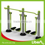 Double Air Walker Galvanized Steel Outdoor Gym Walking Fitness Equipment for Park and Comunity LE.ST.008