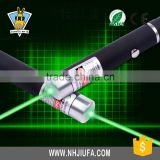 JF High Powerful 50mw Green Laser Pointer Pen with All Stars Head, Aluminum Material Laser Pen, Long Distance Laser Pointer