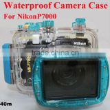 Waterproof Case for Nikon P7000 Camera, Underwater Camera Protector ABS case bag Max 40M Waterproof and 1M Shockproof