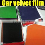 Brand new velvet vinyl car sticker 1.35m*15m/roll