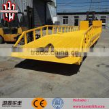 8 ton mobile adjustable loading dock ramp for sale ramp to unload containers/unloading ramp