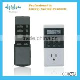 Electric digital countdown timer for sale with remote control for home safety