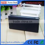 High quality promotional gift built in cable polymer battery battery pack charger