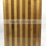 2015 hot selling bamboo chopping blocks with metal hole for kitchen usage36x26x2cm serving tray