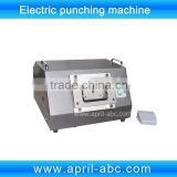 Electric cutter for cutting ID plastic PVC card