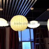 Fancy style pendent lamp Silk pendant lighting wire suspension lamp 2015 hot sale crafts lighting