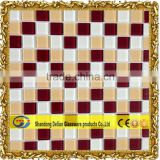brown glass mosaic tile in mosaic