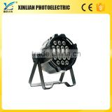 18x3w led black ligh led stage light home party disco lighting 18pcs Fullp-color LED PAR