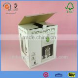 Rectanule Dulcet Corrugated Carton Box Industrial With Beautiful Logo