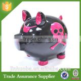 Halloween Costumes China Wholesale Resin Pig Piggy Bank Halloween Decor Coin Bank