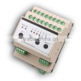 Intelligent smart Relay switch module for dimmer lighting Control System 8 channels 16A 3520W Smart lighting system