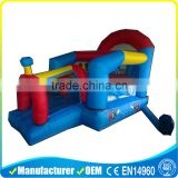 happy hop inflatable jumping castle bounce castle for kids                                                                         Quality Choice