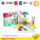 Hot sale plastic painting machine projector toys for kdis,educational projector drawing toy,intelligent toy