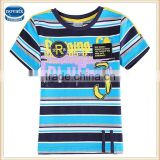 (C5893) 2-6Y new summer kids tshirts apparel fresh stock lots wholesale short sleeves baby stripe tshirts boys tops