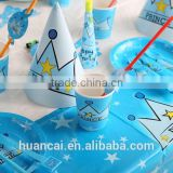Party Favors Supplies Tableware Sets For Birthday Party Decorations for Kids HC006