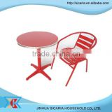 bistro metal chair and table set