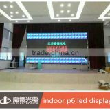 full color P6 smd module indoor led board display for meeting/concert