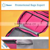 wholesale waffle weave cosmetic bag clasp cosmetic bag cosmetic bag travel