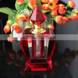 Arabian red hot sale crystal empty perfume nice bottle