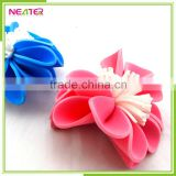 Customized size flower shape EVA bath sponge for women shower use                                                                         Quality Choice