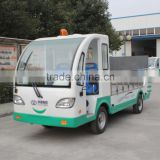 mini electric garbage dump truck for sale mini low price tipper car good cindition with CE