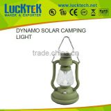 Brightest Outdoor Battery Solar camping light Powered Dynamo/crank Camping Lanterns Tent Lights
