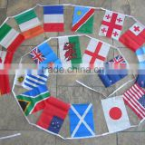 street bunting string flag for promotion,wedding,advertising