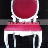 Chic Dining Chair with Velvet fabric - Restaurant Furniture - Living Room Chair for Bedroom Set