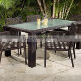 Wholesale Rattan Dining and Coffee Set Furniture - Wicker Rattan Dining Room Furniture - Outdoor Rattan Dining Set