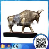 wholesale office decoration animal sculpture craft resin bull statue,resin bull figurine,bull sculpture