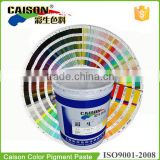 Guide for making Pantone color with Caison pigment paste(18-1649--18-3013)