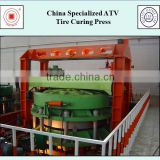 China Specialized ATV Tire Curing Press