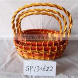 Inquiry About Willow Carrying Basket,Wicker weaving Basket,Cheaper Wicker Basket With Carrying Handle FG-3121