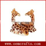Adorable wholesale equsite design Ceramic Giraffe salt shakers