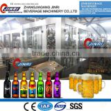 JR-BGF 16-16-6 2016 Full Automatic Beer Bottle Filling Factory Equipment/ 3000BPH Beer Manufacturing Equipment
