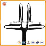 High quality 5 points safety seat belt harness for children with adjustable buckle