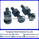Sets of torshear type high strength bolt hexagon nuts and plain washer for steel structures